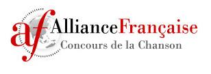 logo Concours de la Chanson Alliance Française