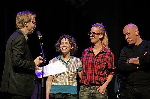 """Bart Van Loo, Bridget van Zundert en de band """"The Goldfish"""""""