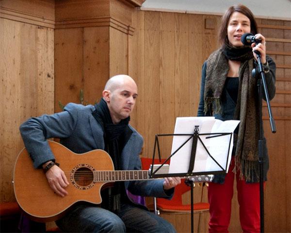 Marit Verwer en Valentin Ocheda