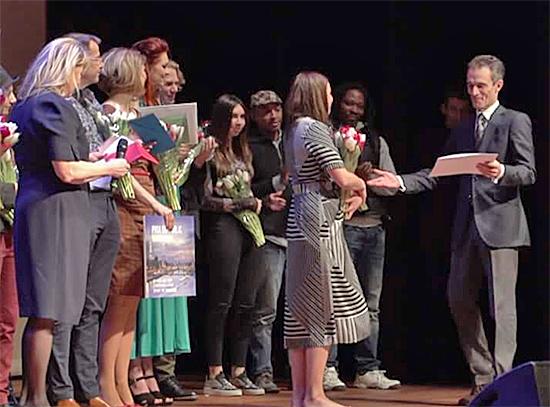 Remise des prix - Concours de la Chanson 2017