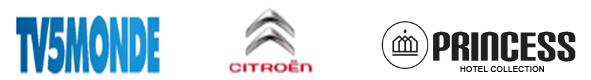 Logo's TV5MONDE, Citroën, Princess