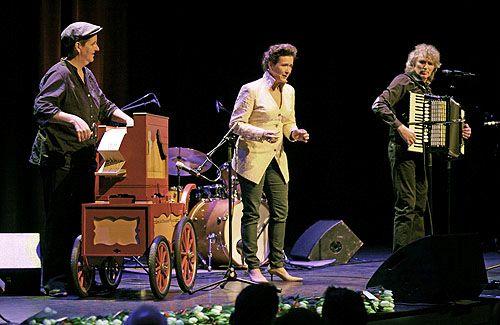 Xandra Storm (orgel), Yolanda Tangelder en Willem te Voortwis (accordeon)