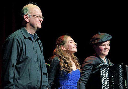 Anton Doornhein (piano), Maria Pedano en Johan Wiersma (accordeon)