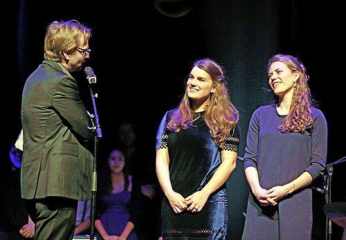 Bart Van Loo, Lucía Talamoni en Sophie Moens (piano)