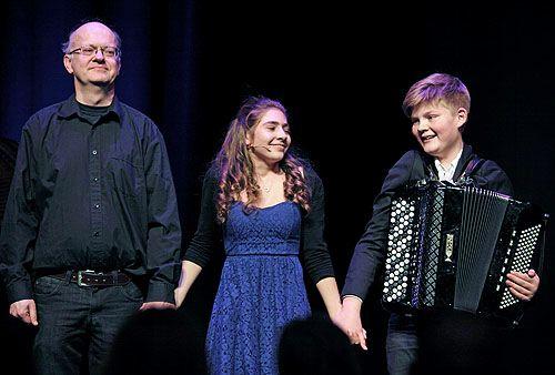 Anton Doornhein, Maria Pedano en Johan Wiersma