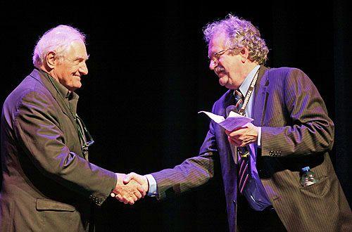 Nico Knapper (Mise-en-scène) en Marcel Bugter (Président de l'Alliance Française des Pays-Bas)