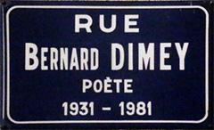rue Bernard Dimey - Paris 18ème